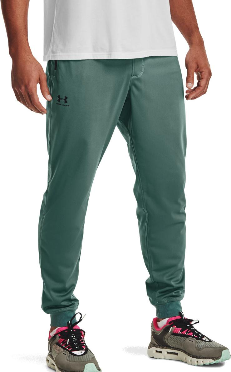 Broeken Under Armour SPORTSTYLE TRICOT JOGGER-GRN