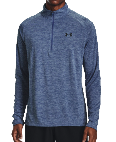 T-shirt met lange mouwen Under Armour UA Tech 2.0 1/2 Zip-BLU