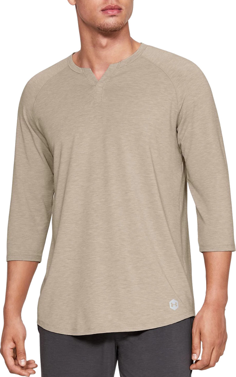 T-shirt met lange mouwen Under Armour Recovery Sleepwear Henley